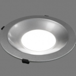LED-Downlight 4 an schraeg