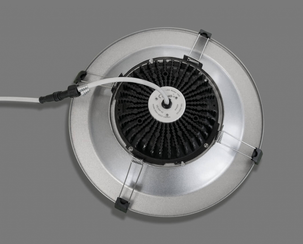 LED-Downlight 4 rueckseite