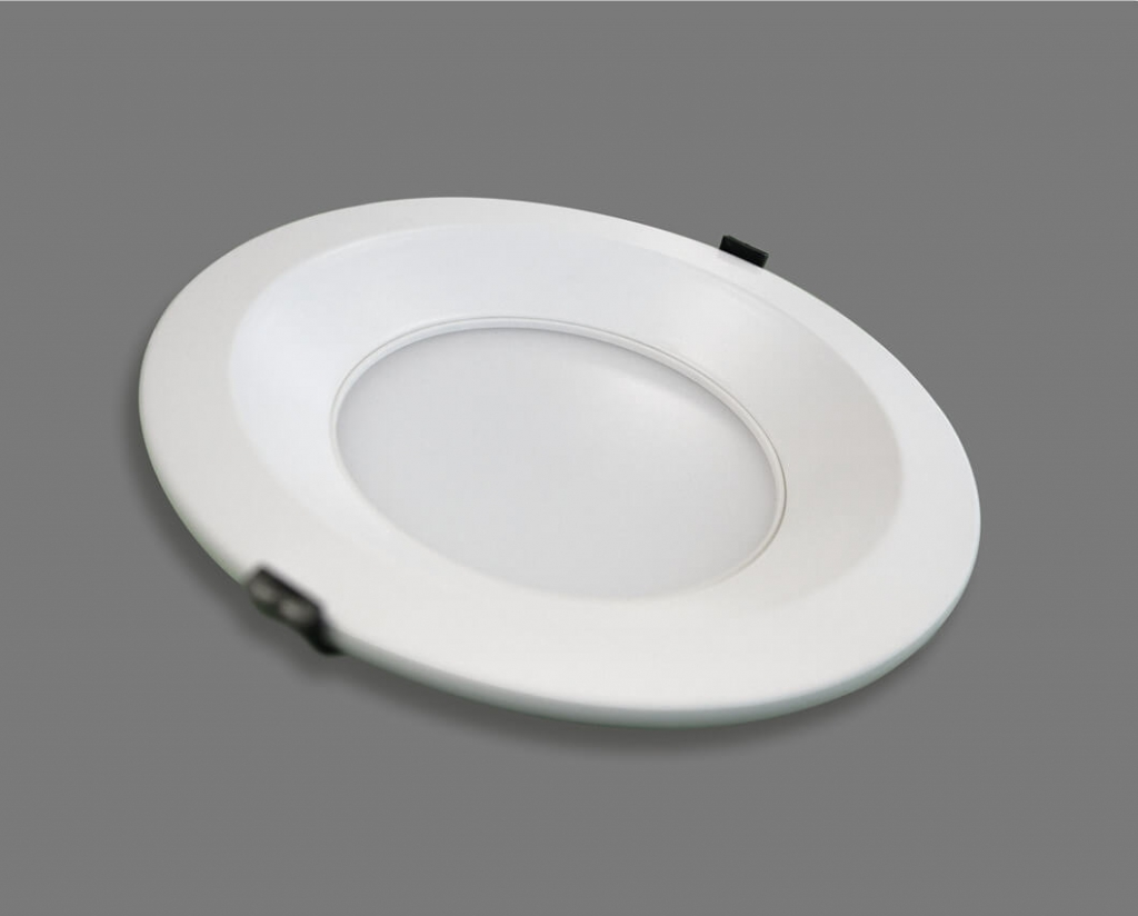 LED-Downlight aus schraeg