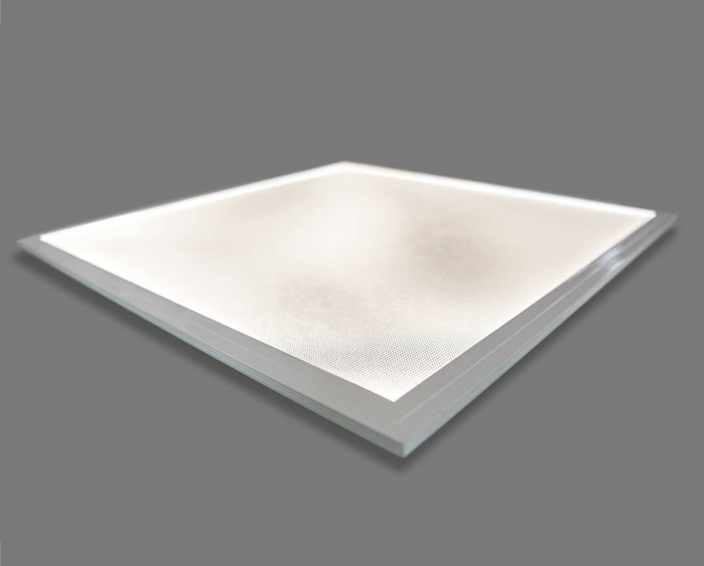 LED-Panel an schraeg